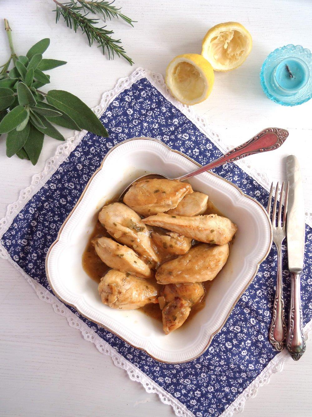 lemon chicken vegetables Italian Lemon Chicken