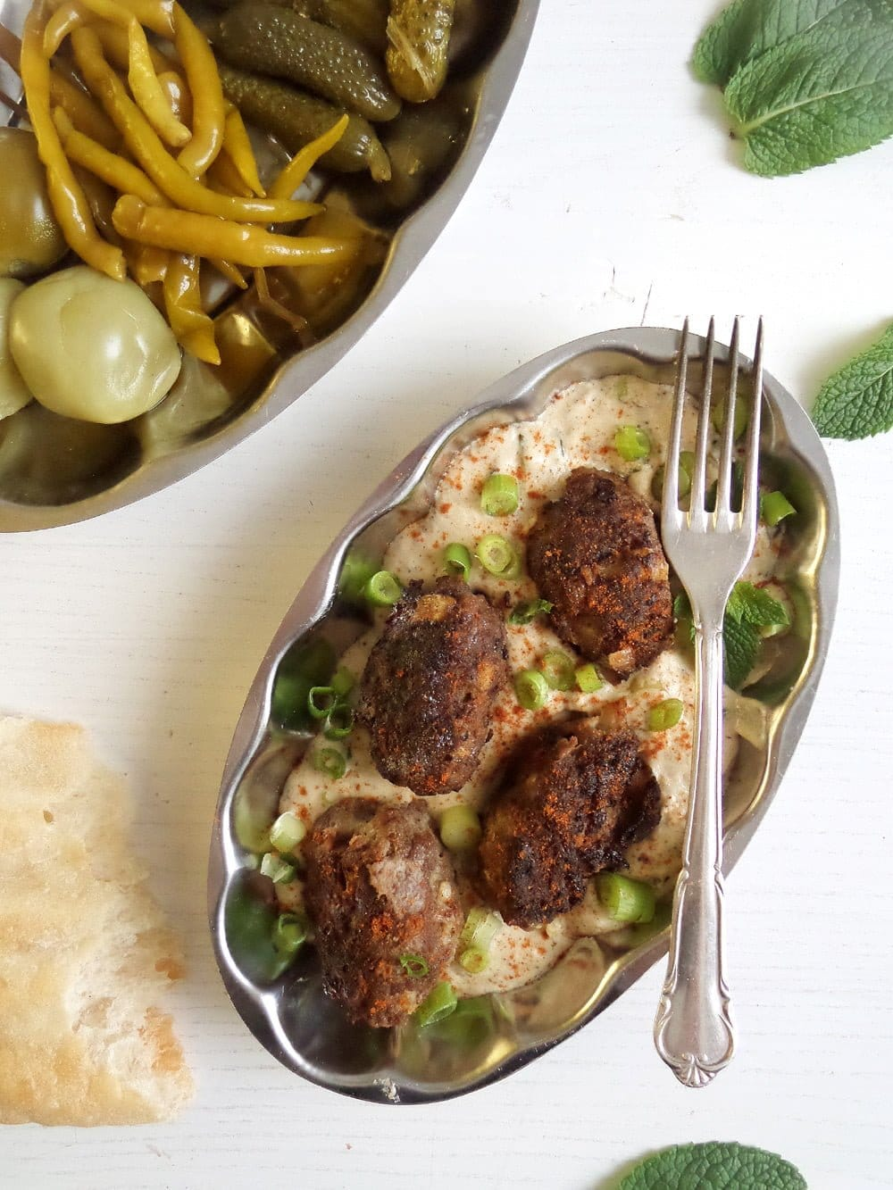 turkish meatballs yogurt Turkish Meat Rolls In Yogurt Sauce
