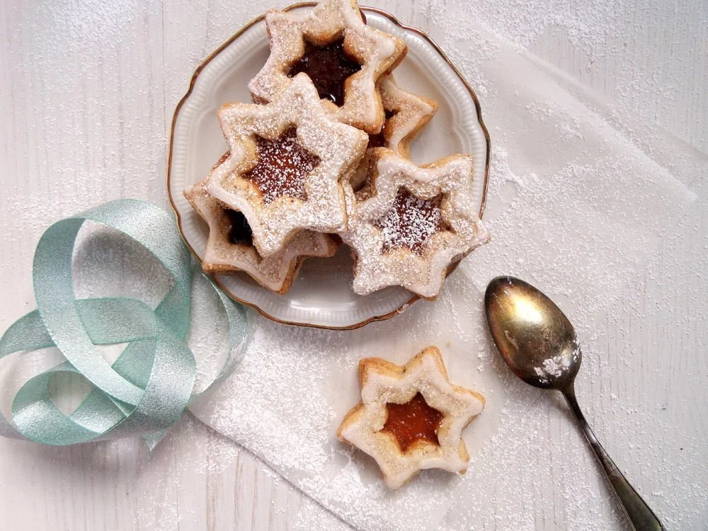 star cookies german Spitzbuben Cookies