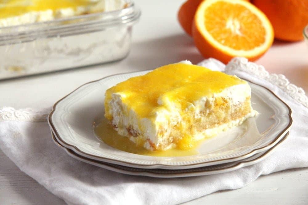 orange tiramisu yogurt Orange Tiramisu
