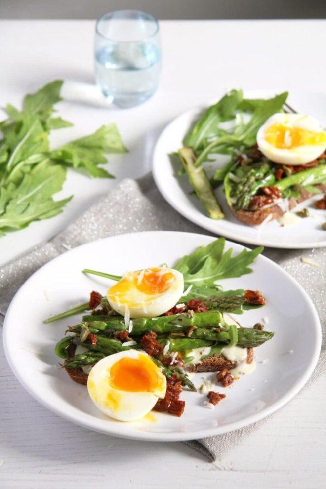 asparagus sandwich 683x1024 Asparagus Egg Toast