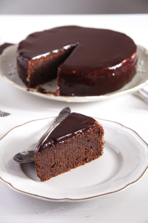 chocolate zucchini cake Mirror Glaze Chocolate Zucchini Cake