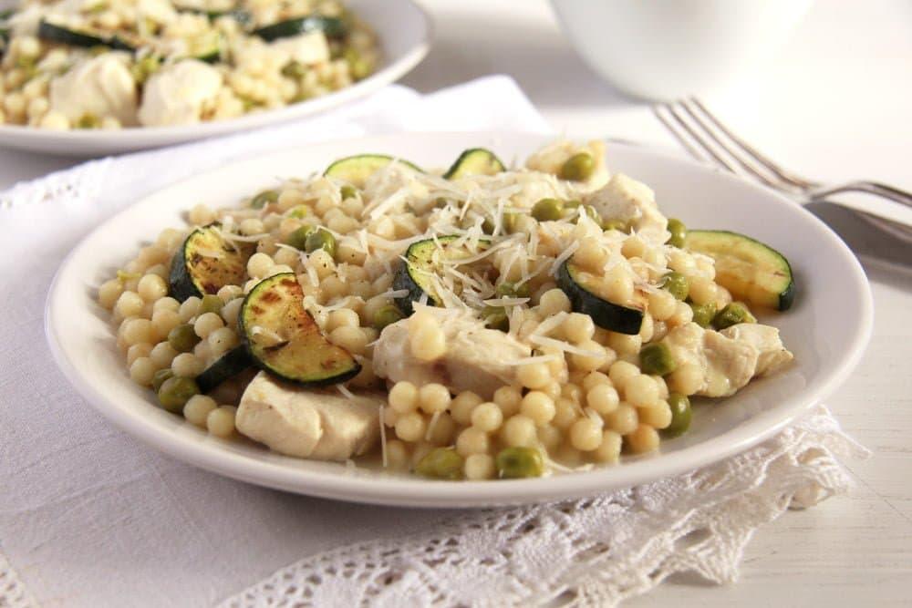 zucchini couscous israeli Creamy Pumpkin Gorgonzola Risotto