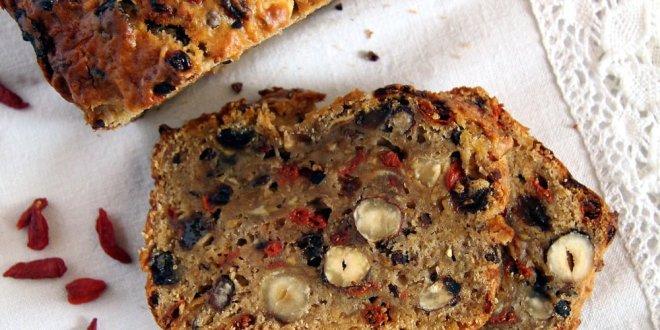 Trail Mix Apple Bread