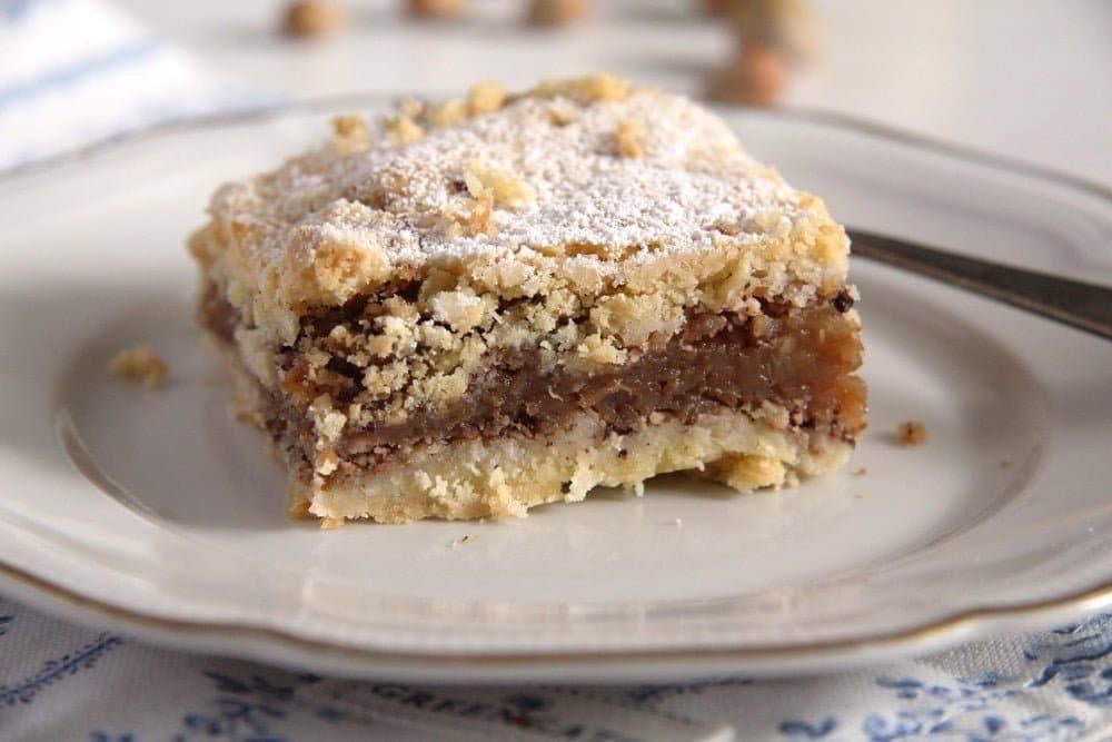 apple hazelnut slice Apple Hazelnut Pie