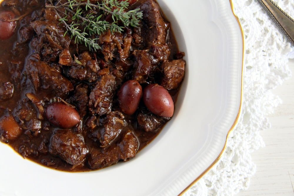 french stew olives beef French Beef Stew with Olives