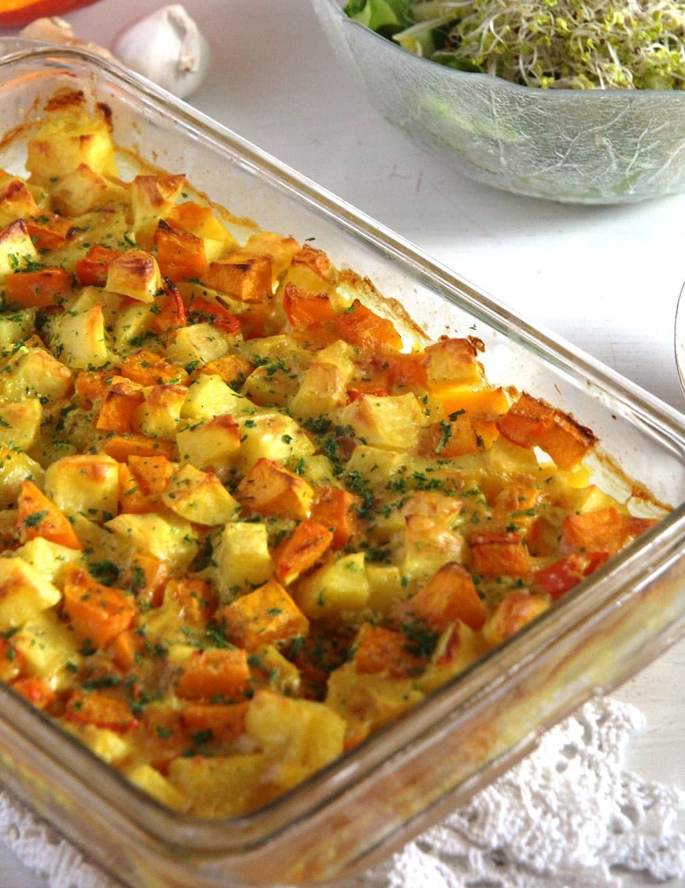 pumpkin casserole Pumpkin Potato Casserole
