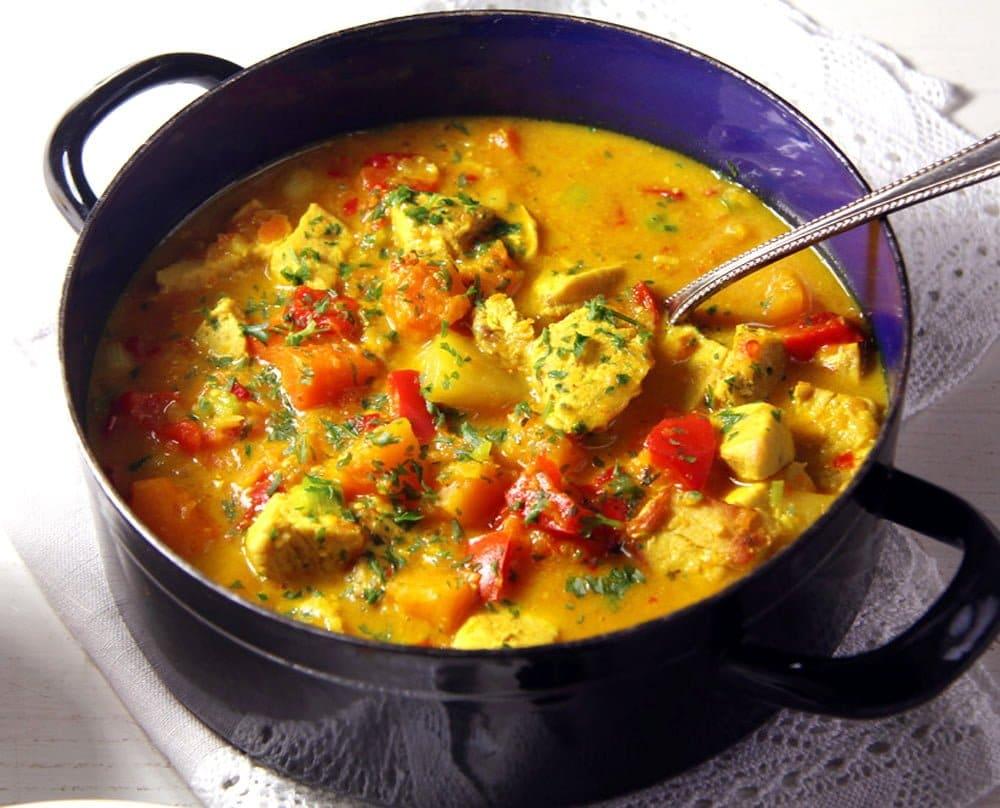 pumpkin curry 2 Pumpkin Turkey Curry