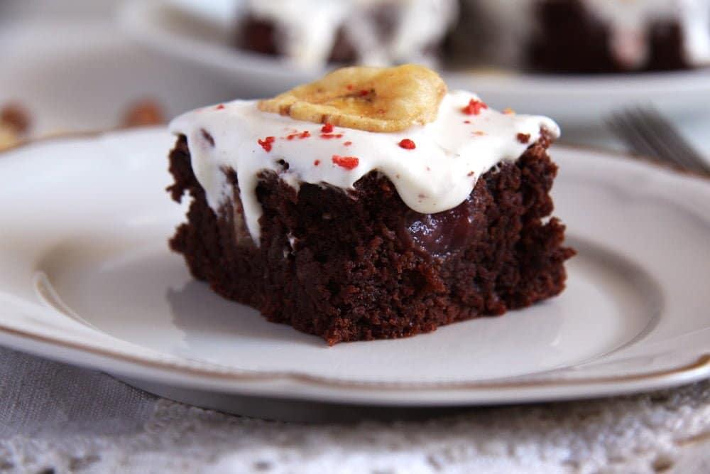 hazelnut cake Hazelnut Chocolate Banana Cake