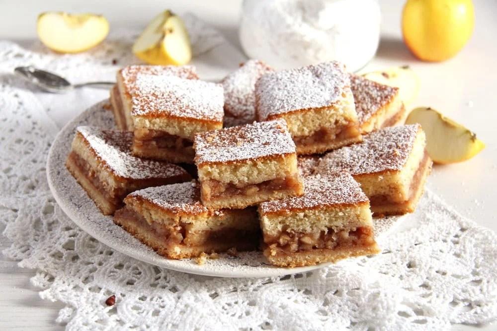 apple traybake The Softest Apple Cake