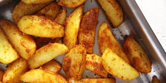 Baked Cornmeal Potatoes