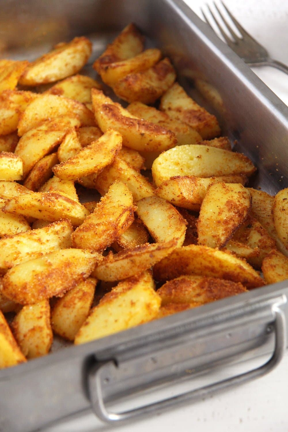 cornmeal potatoes salt Baked Cornmeal Potatoes