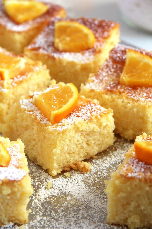 polenta cake romanian Polenta Orange Cake – Malai dulce