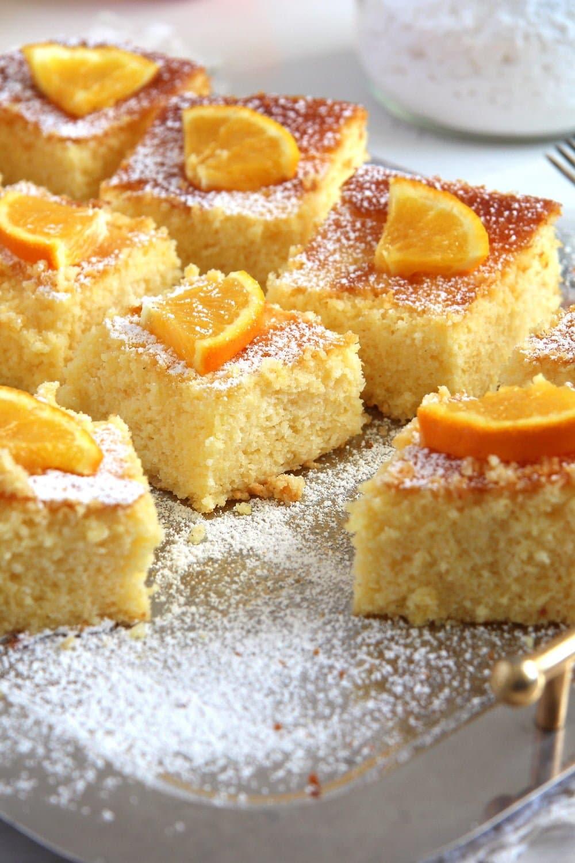 polenta cake Polenta Orange Cake – Malai dulce
