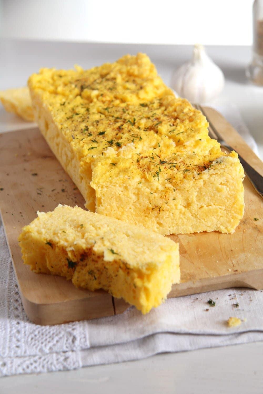 polenta souffle Romanian Polenta Souffle