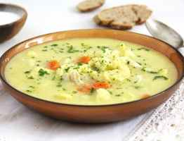 Chicken Cauliflower Soup