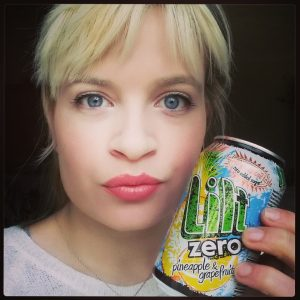 I was SO happy when they made Lilt Zero that I took a selfie ;)