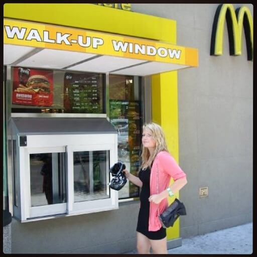 Coney Island, NYC, WALK THROUGH MCDONALDS!!! WHAT?!! Just go into the McDonalds! AMAZING!