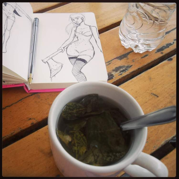 Coca tea, I may have been addicted. Nothing to do with the fact that it is just cocaine leaves in water, of course. Chewing the leaves was amazing for altitude sickness also. Favourite food/drink item in Peru for sure.