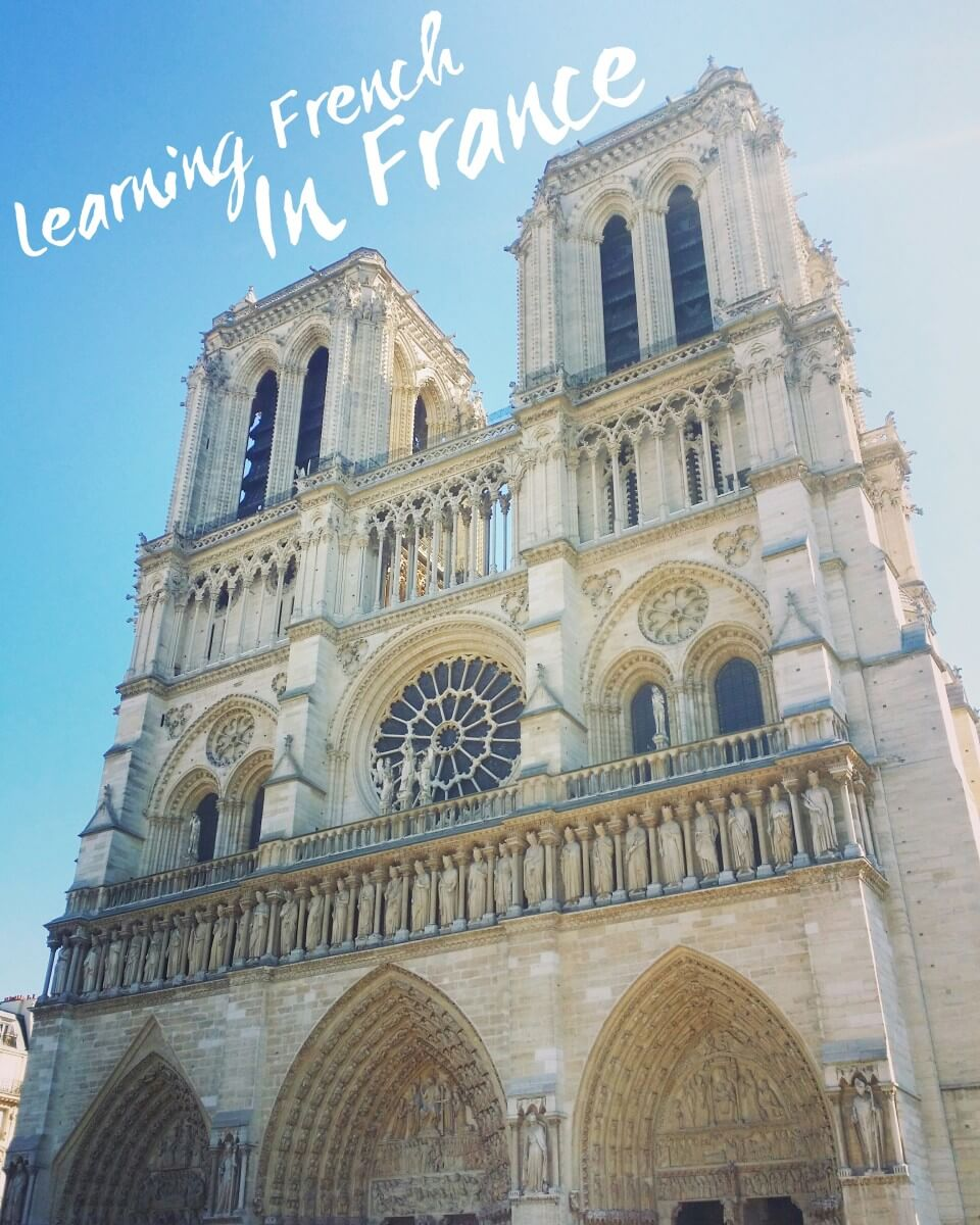 learning french in france