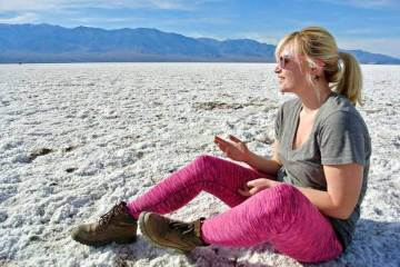 british airways favourite holiday moment death valley national park where is tara