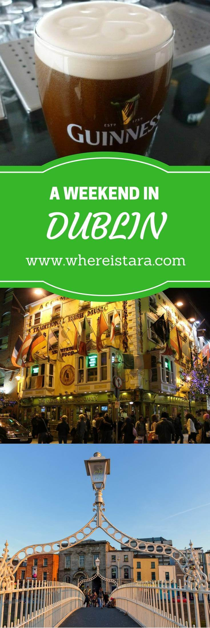 weekend in dublin where is tara povey top irish travel blogger
