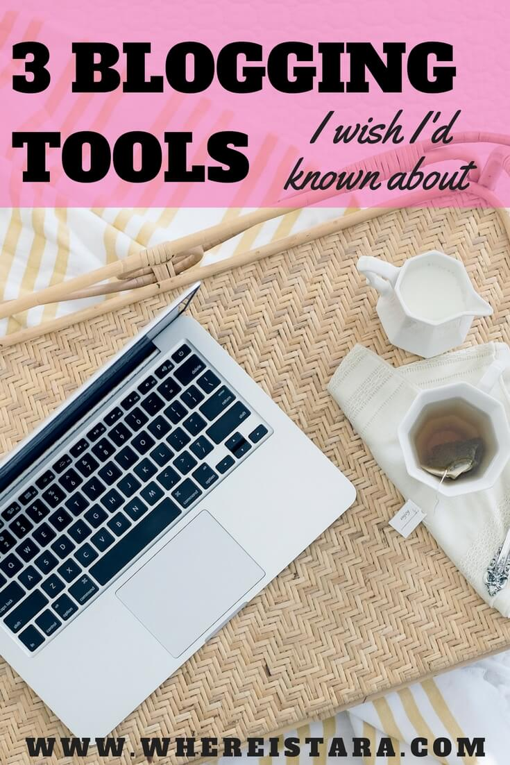 3 blogging tools where is tara