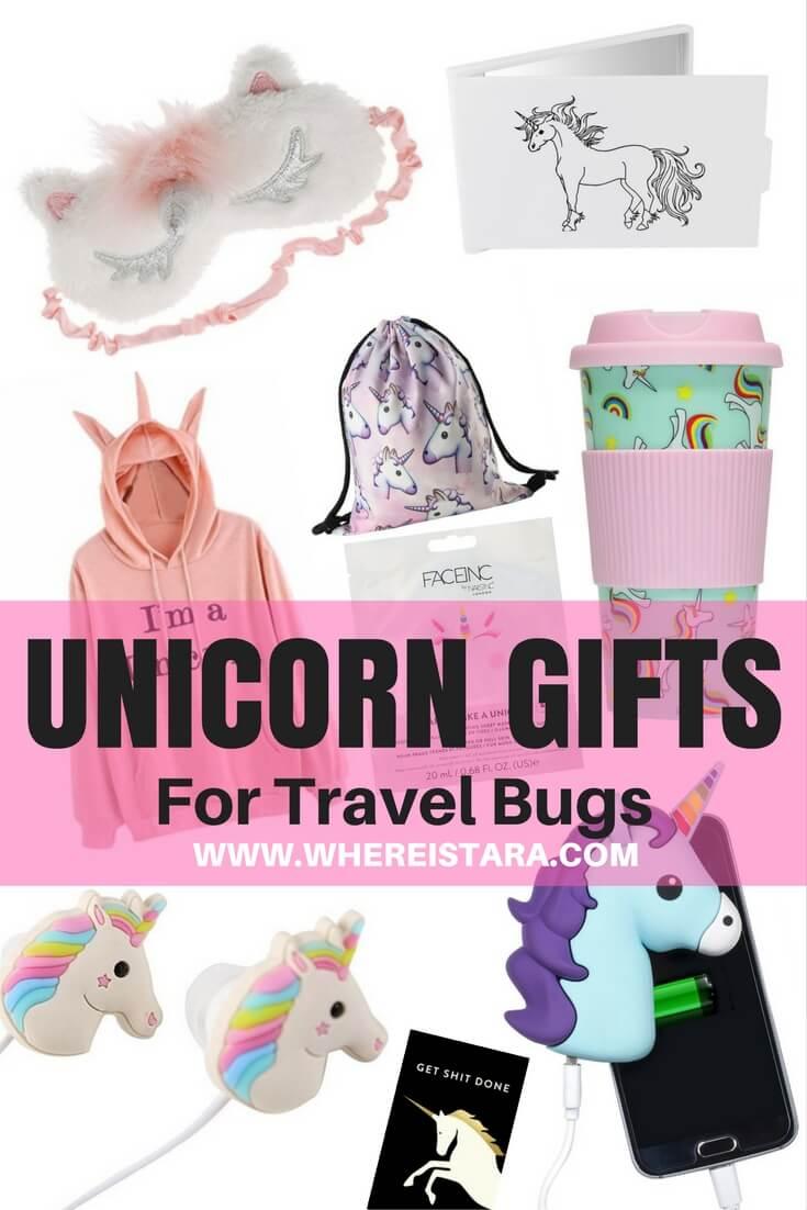 UNICORN GIFTS travel christmas gifts where is tara