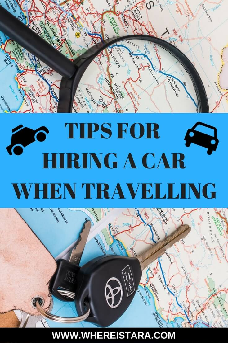 tips for hiring a car tips for car hire where is tara