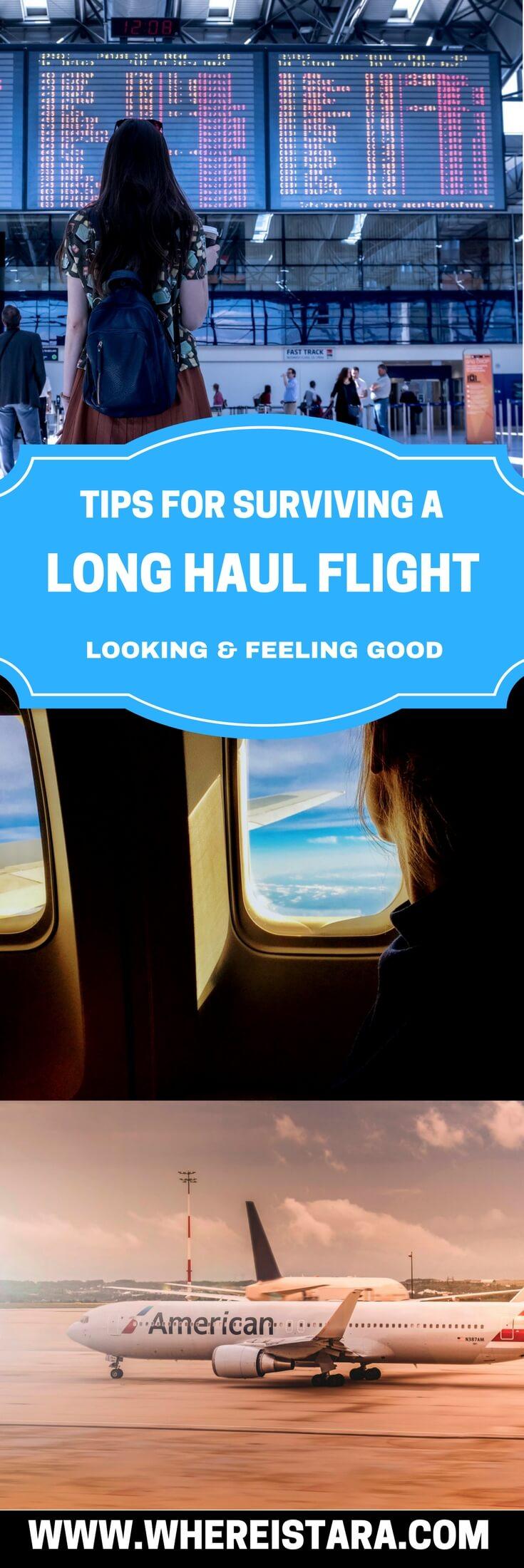 tips for a long haul flight where is tara pin