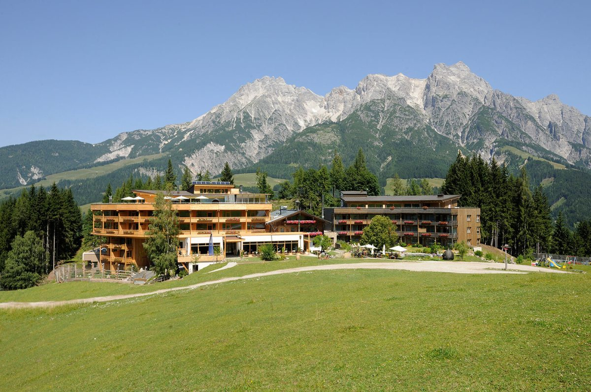 Escaping the World at Forsthofalm Hotel, Austria