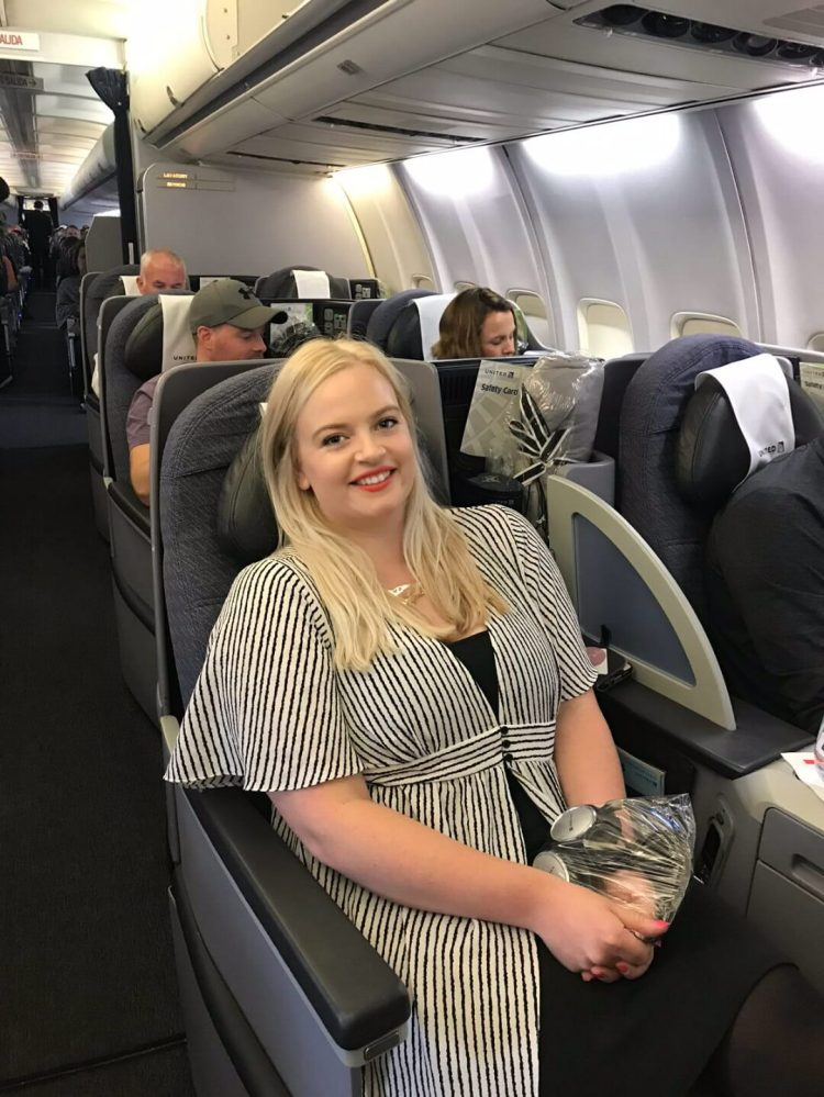 united polaris business class dublin to chicago