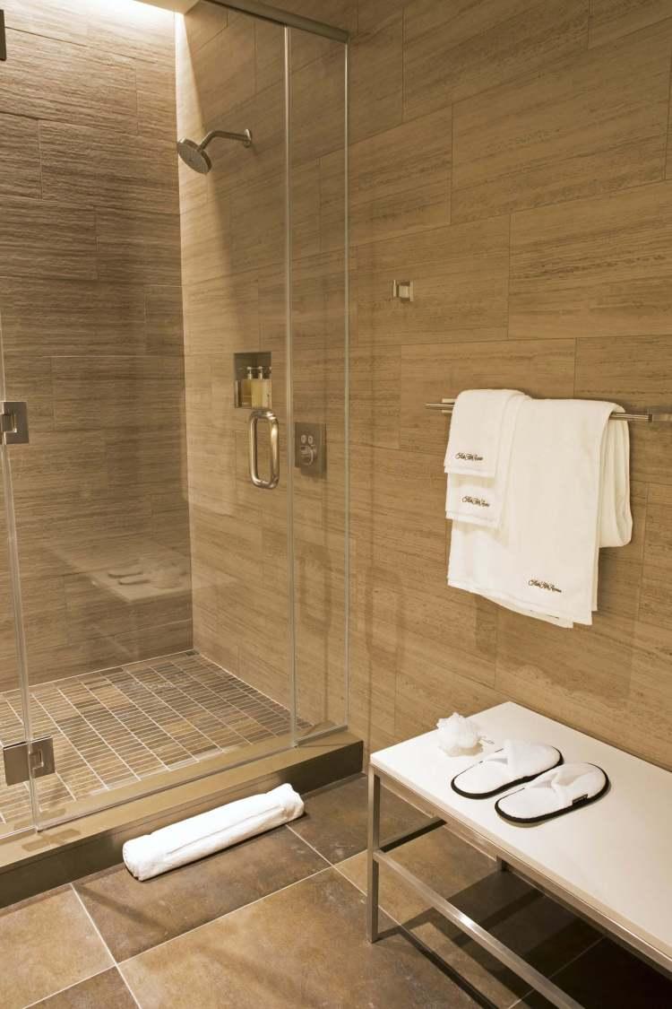 united polaris business class lounge shower suite