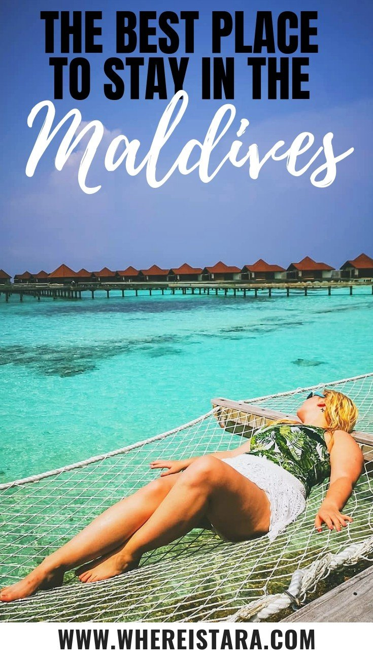 The Best Place to stay in the maldives robinson club maldives review pin