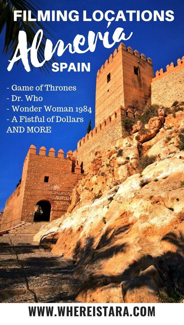Almería filming locations Spain