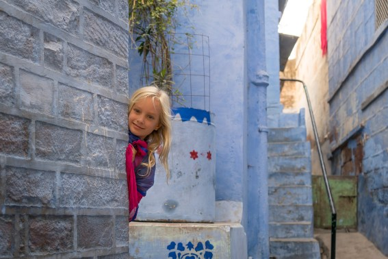 Get Lost in the old city of Jodhpur with Kids