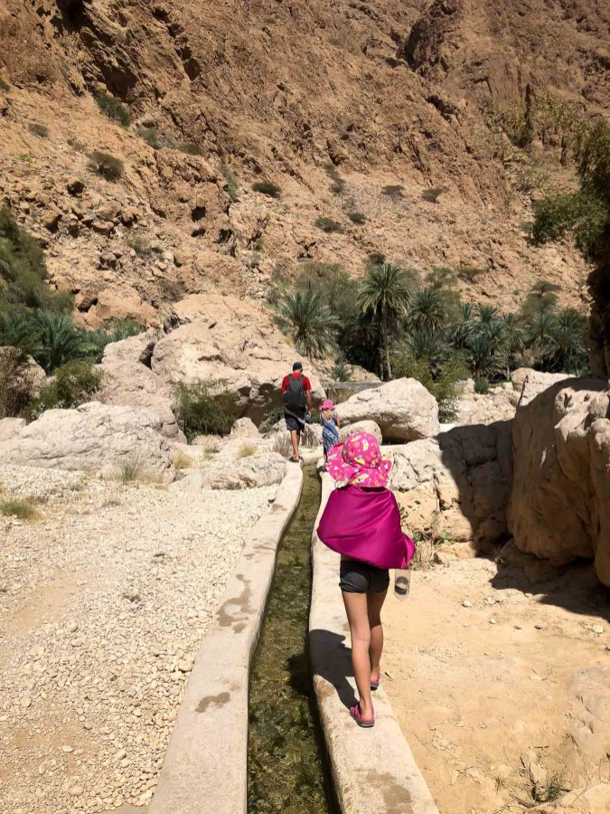 Wadis in Oman-5323