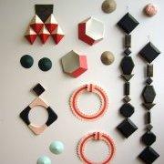 Wall of Earrings Anna Gleeson | Where My Heart Leads