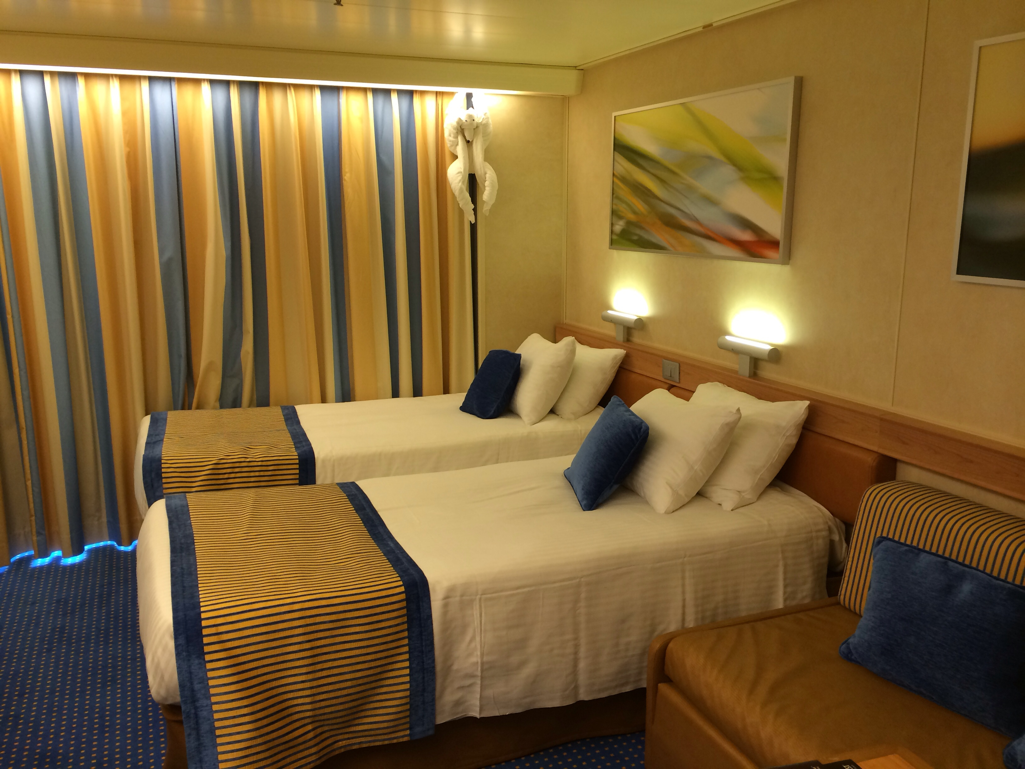 princess cruises sofa bed sofascore live basketball pictures of our balcony stateroom 8152 on the all new