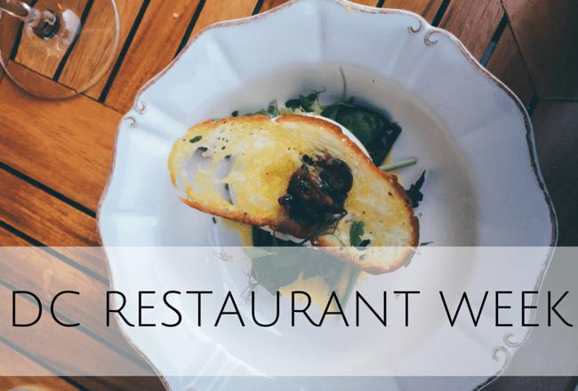 DC Restaurant Week