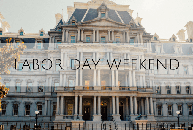 labor day weekend in dc