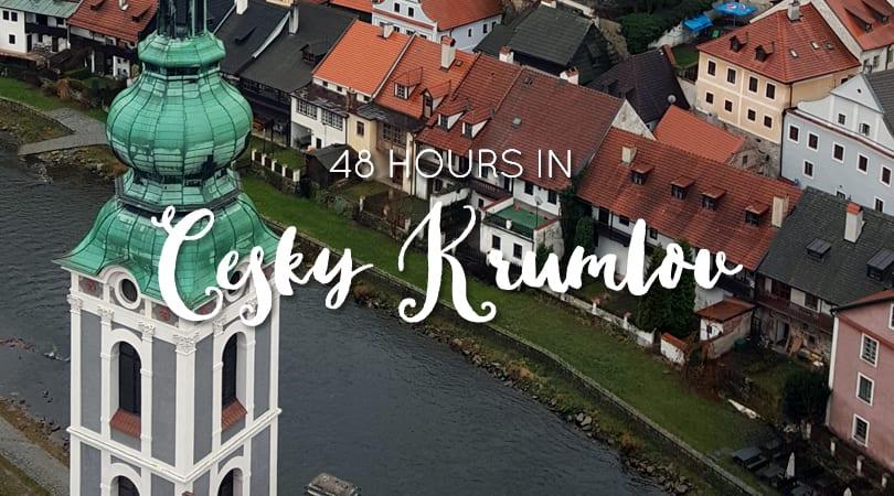 48 Hours in Český Krumlov