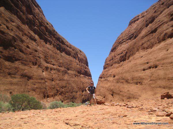 At Kata Tjuta Australia