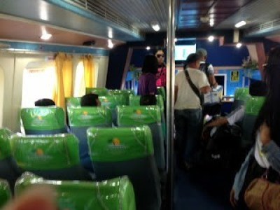 First class on boat to Iloilo and bacolod