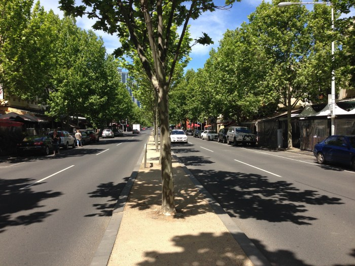 Restaurants in lygon street carlton