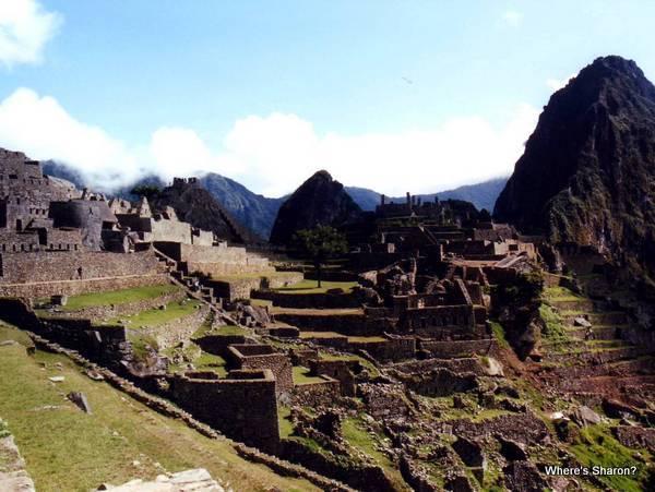 macchu picchu from inca trail