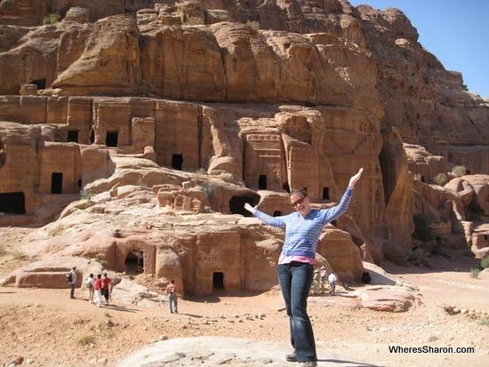 exploring petra jordan