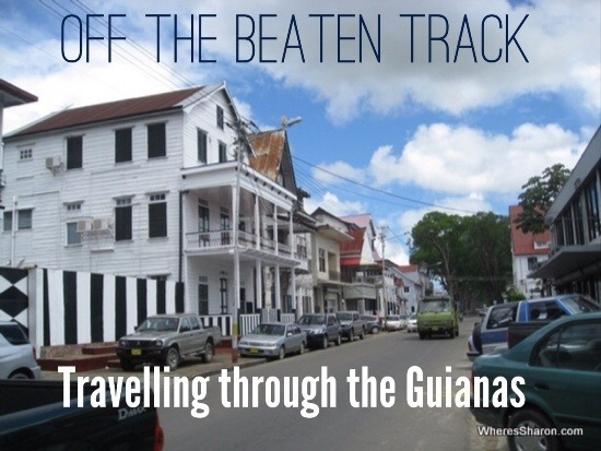 Streets of paramaribo in suriname