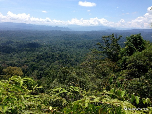 Views at Bukit Patoi Brunei