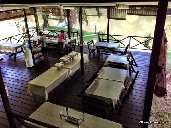 Rainforest lodge in the Brunei rainforest